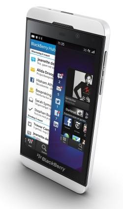 BlackBerry Z10 Pure White